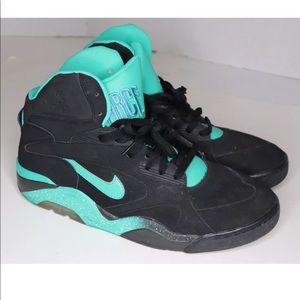 Nike Air Force 180 14 Mid Black Atomic Teal Black